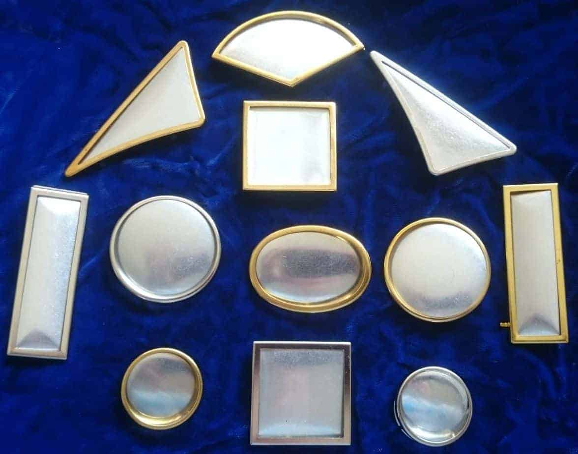 Brooch frames and Purse Clasps