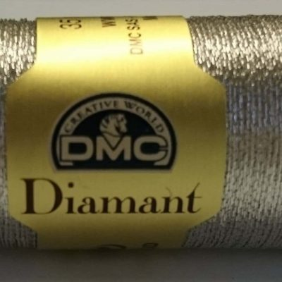 DMC DIAMANT THREAD   D168   Silver  (ophir)