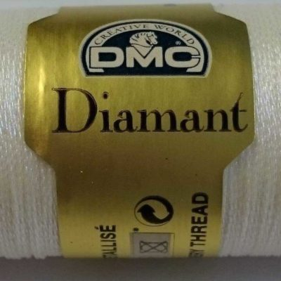 DMC DIAMANT THREAD   D5200   White (ophir)