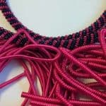 Fushia/Magenta Coloured Purls set 1
