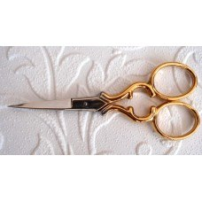 Toledo Embroidery Scissors, Gold Colour