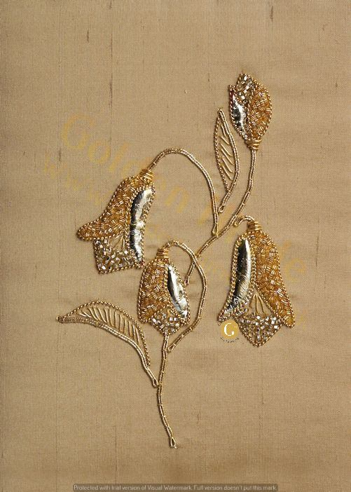 Harebell Goldwork Embroidery Kit