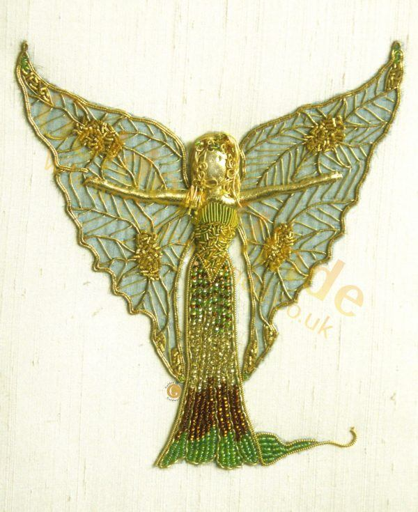 Fairy Anabell Goldwork Kit ,  Intermediate Goldwork Embroidery