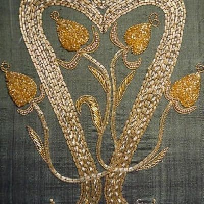Heart Goldwork Kit ,  Intermediate Goldwork Embroidery