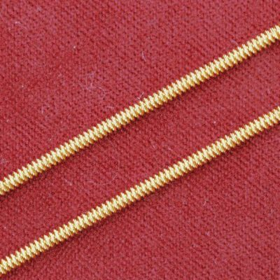 Wire check 8, Length 18 inches, Gold colour, Goldwork Thread