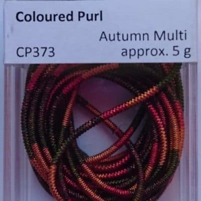 CP373   Autumn Multi Check Purl