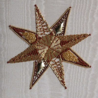 Star Goldwork Embroidery Kit